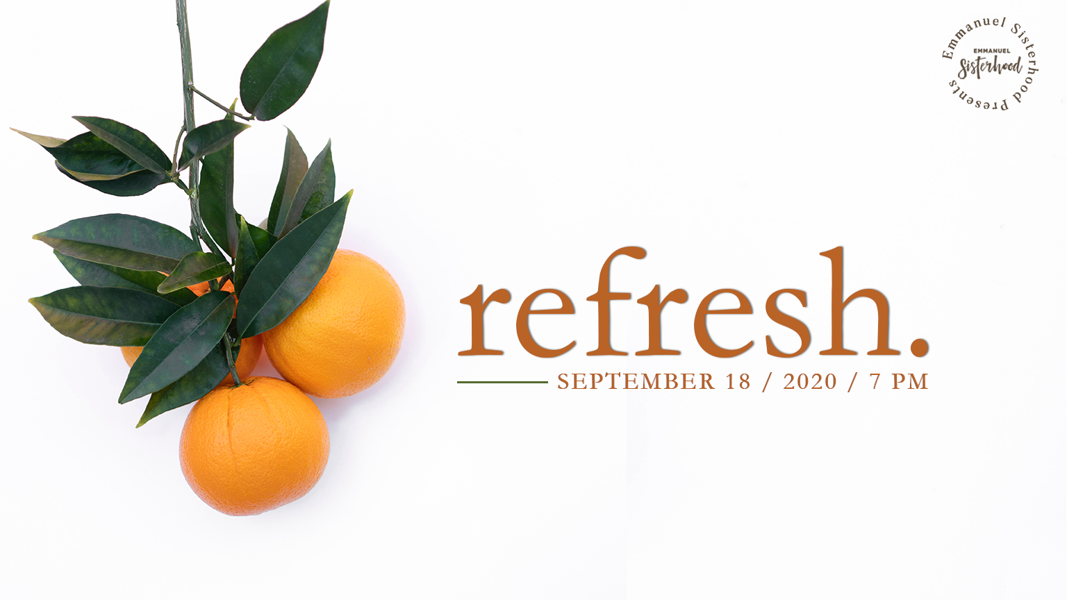 Refresh | Women's Fall Event